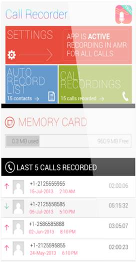 Top Automatic Call Recorders - Aflik Nuage CallRecorder