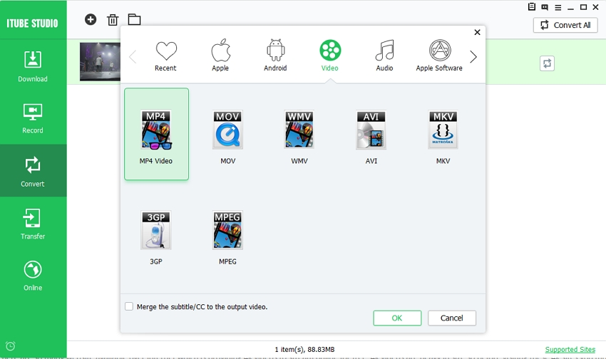 How to convert and download 4k video in MP4 Format