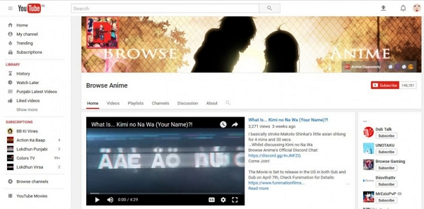 Download anime songs - YouTube Anime