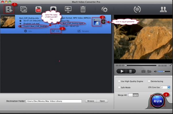 Download Anime Subtitles -  MacX Video Converter Pro