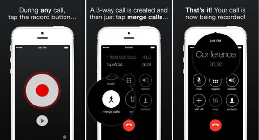 10 Tips to Record phone Call on iPhone-Use call recorders