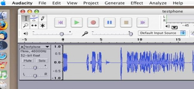 Top 5 Call Recorders for Telephone-Audacity Call Recorder