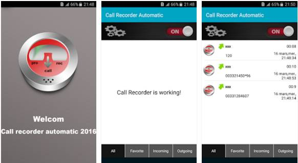 Top 5 Auto Call Recorder Apps