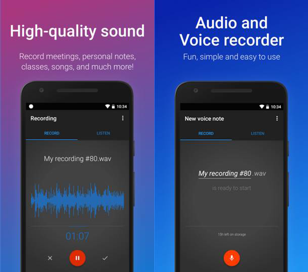 Top Call Recorder Apps - Easy Voice Recorder