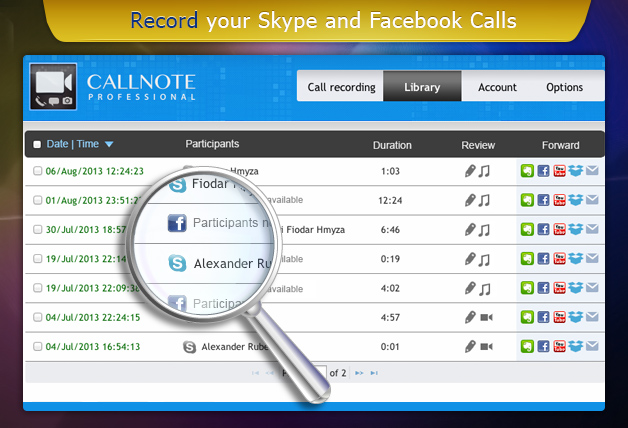 Top Call Recording Apps - Callnote