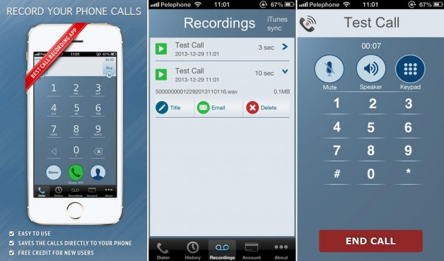 5 Best Call Recorders 2016 - IntCall