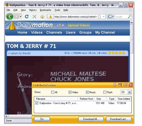 download dailymotion videos songs - Download Accelerator Manager