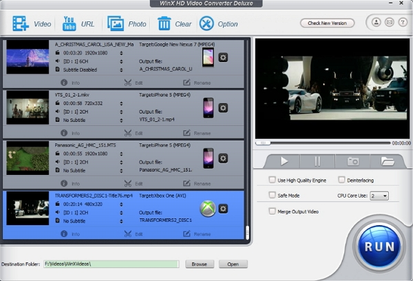 download dailymotion videos songs - WinX HD Video Converter Deluxe