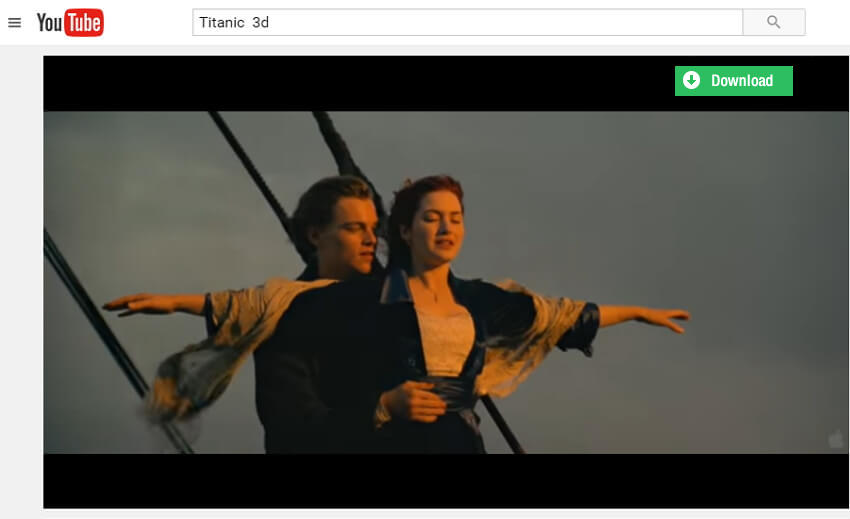 How to Download Titanic 3D Clips from YouTube for Free