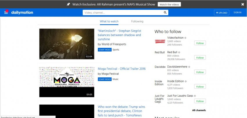 Download Music Legally for Free - Dailymotion