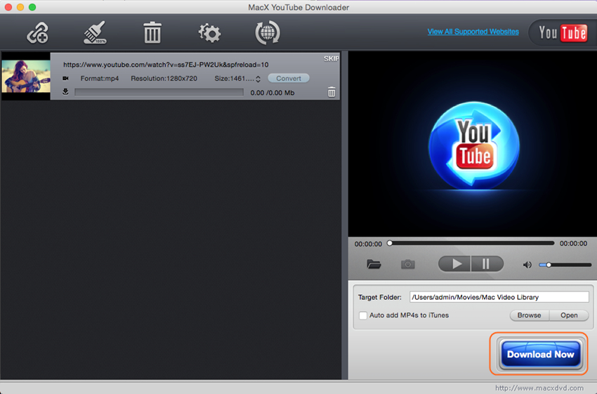 download private vimeo videos - MacX youtube downloader