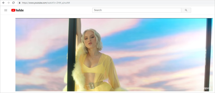 Download VEVO Videos to MP3 - Copy Video URL