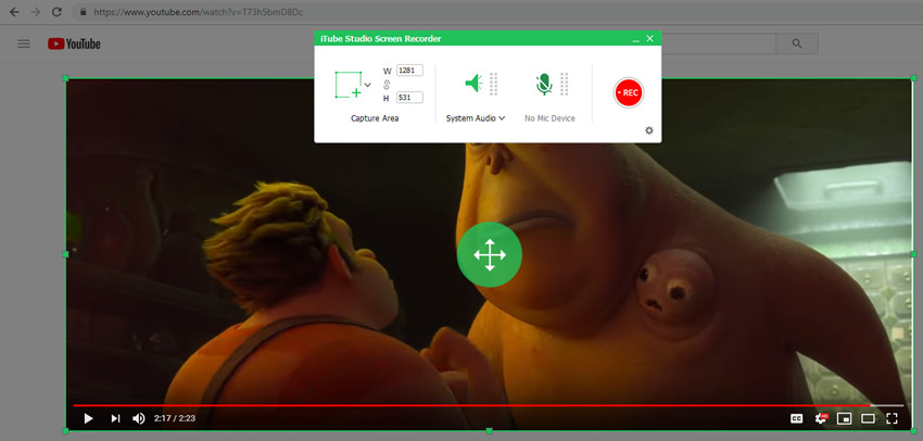 KeepVid for Mac - Adjust the Frame