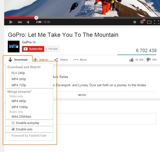 Download YouTube Songs with Browser Add-Ons
