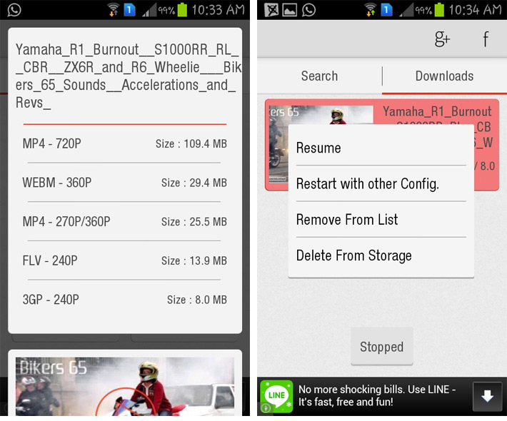 Download YouTube Songs with Apps