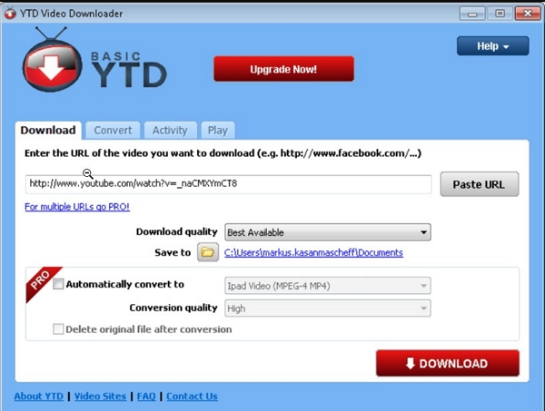 Another Great 8 Solutions to Download and Watch YouTube Videos Offline Without YouTube Red - YTD Video Downloader