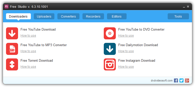 YouTube Downloader for Windows 8 - Free Studio YouTube Downloader