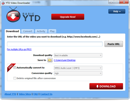 All-in-One YouTube Downloader and Converter - YTD Video Downloader