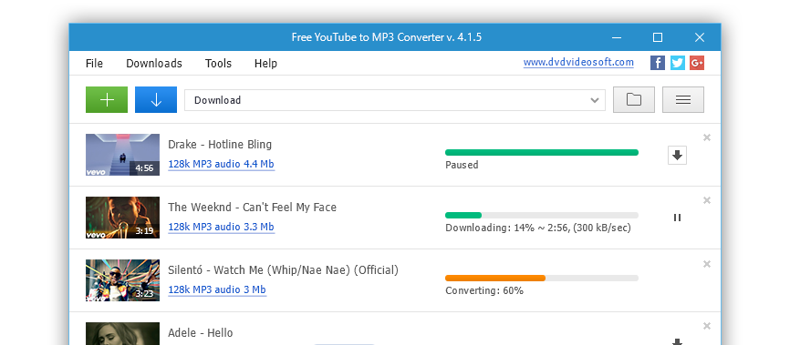 Top 10 Best YouTube Audio Downloader - Free YouTube to MP3 Downloader