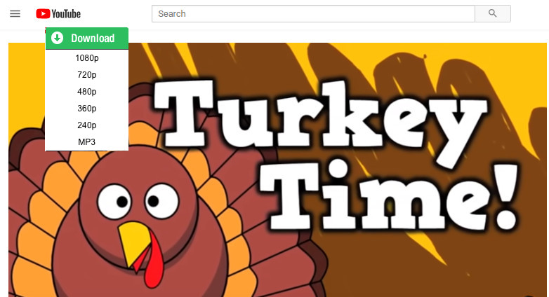 download thanksgiving video from youtube