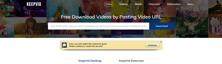 All Ways to Download and Watch YouTube Video Offline - Paste URL in KeepVid