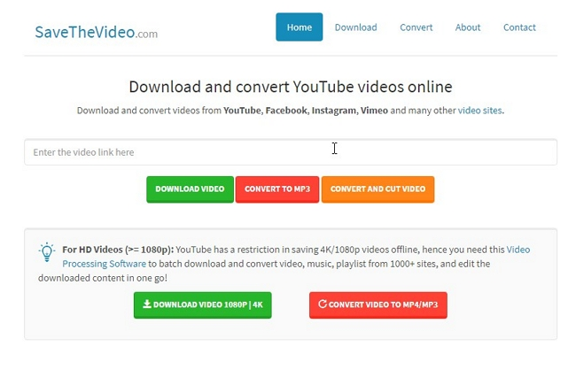 3 Online YouTube Batch Downloaders  -  SaveTheVideo
