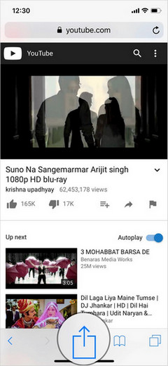 Play YouTube Videos in Background in iOS