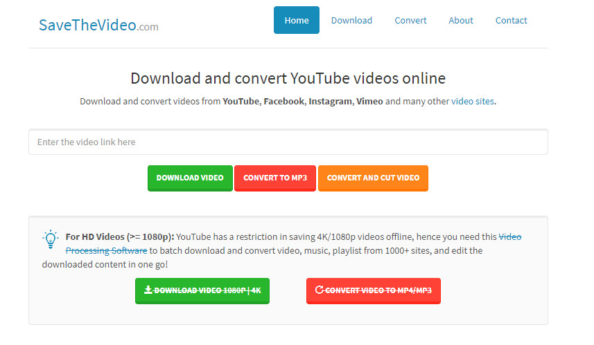 download and convert youtube videos free online