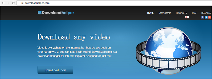 IE YouTube Downloaders - IE DownloadHelper