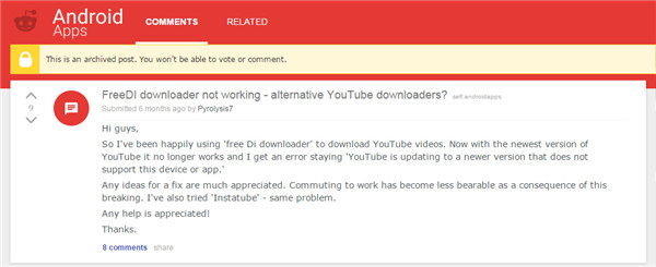 FREEdi YouTube Downloader and Its Alternatives