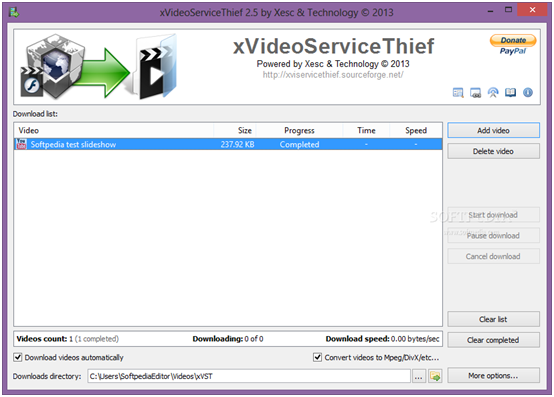 Safe YouTube Downloader - XVideoServiceThief
