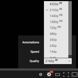 youtube hd video not playing