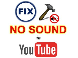 videos have no sound