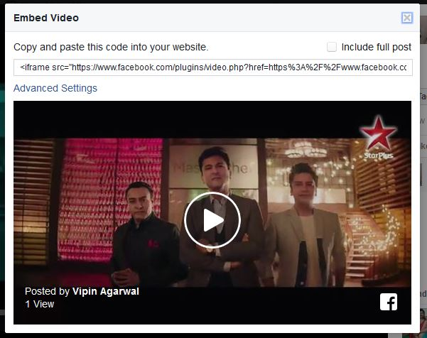 How to Share Videos on Facebook and Embed Facebook Videos