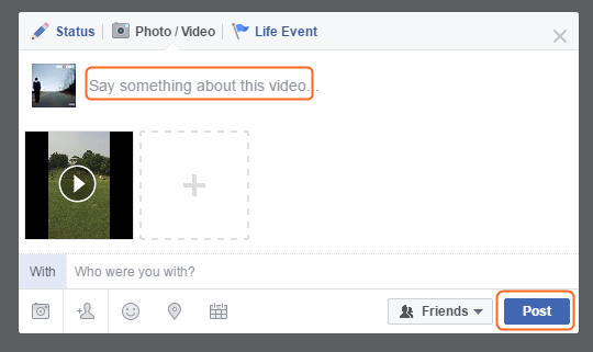 How to Edit Facebook Videos