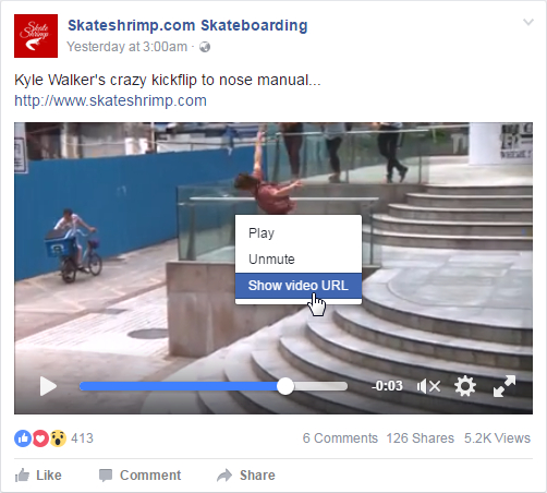 How to Play and Embed Facebook HD Videos