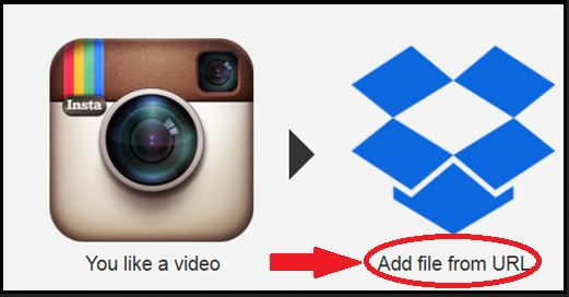 Save Instagram Videos - Upload File from URL