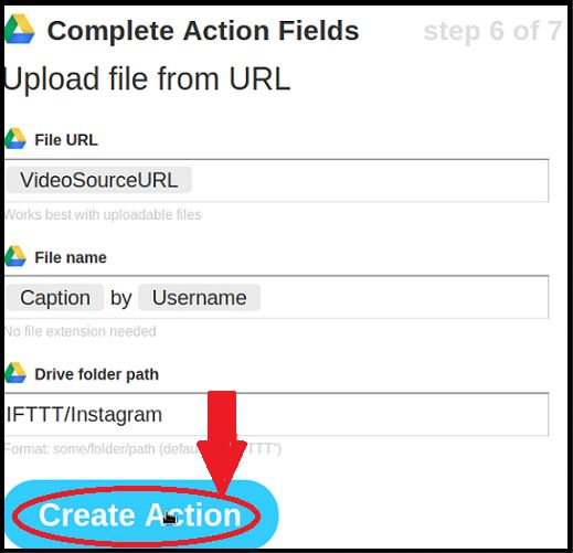 Save Instagram Videos - Finish Saving Video
