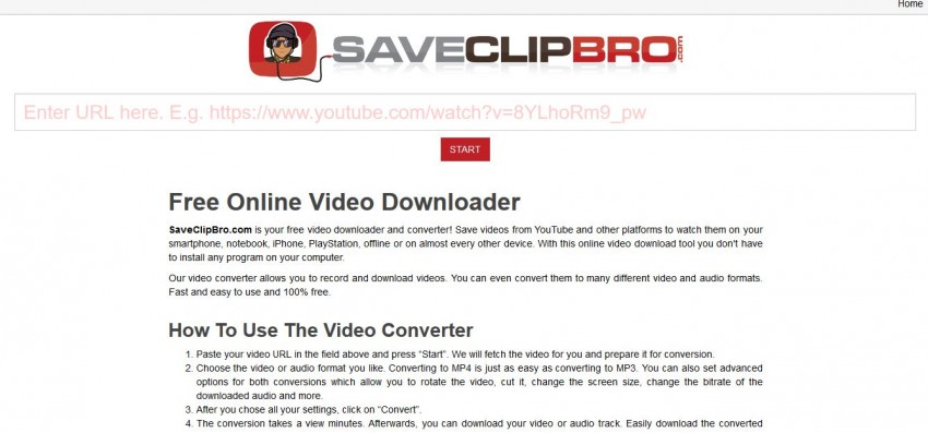 Instagram Video Converters - SaveClipBro