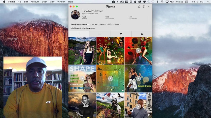 Instagram Download - Flume for Mac