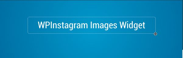 Embed Instagram - WP Instagram Images Widget