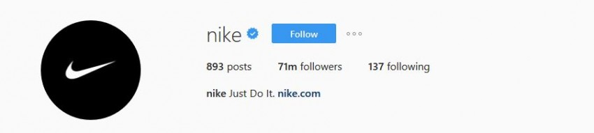 Most Followed Instagram Accounts - nike