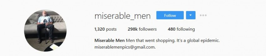 Best Instagram Accounts - miserable_men