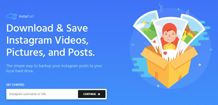 Backup Instagram - Backup Instagram Accounts with InstaPort