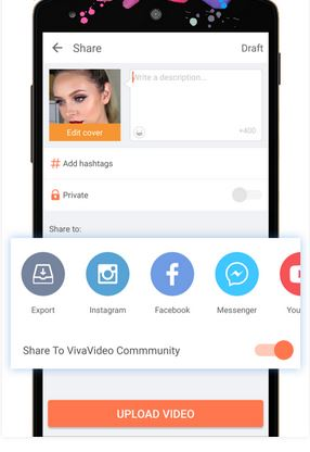 YouTube to Instagram Apps - VivaVideo