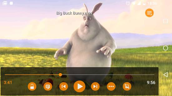 Top 10 MP4 Players for Android - VLC for Android