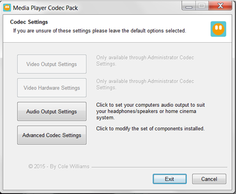 MP4 Codecs - Media Player Codec Pack