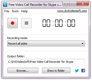 record skype calls - Free Video Call Recorder for Skype