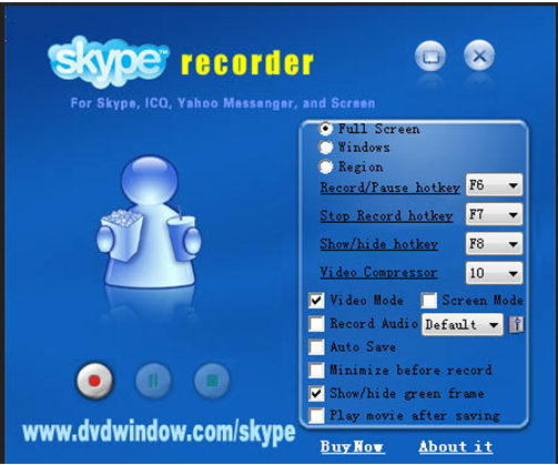 record Skype video - Skype Recorder