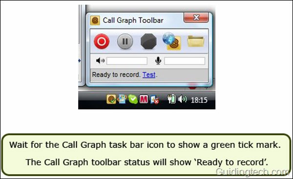 skype video recorder - Call Graph